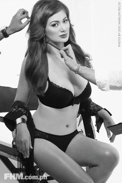 菲律宾美女。 弗朗辛·普列托 Francine Prieto [gif]