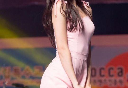 韩国美女。 崔玉娜 최유나 [gif]