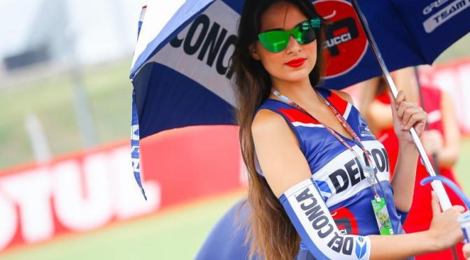 赛车美女。 阿根廷 Argentina