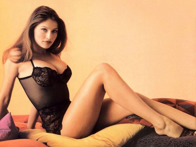 法国美女。 蕾蒂西娅·卡斯塔 Laetitia Casta [gif]