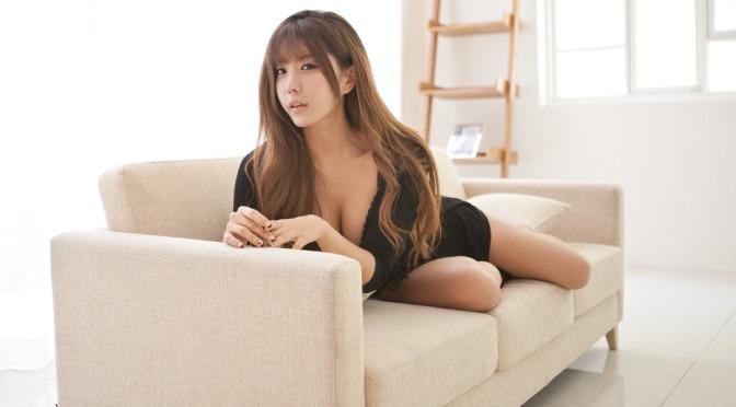 韩国美女。 许允美 허윤미 [gif]