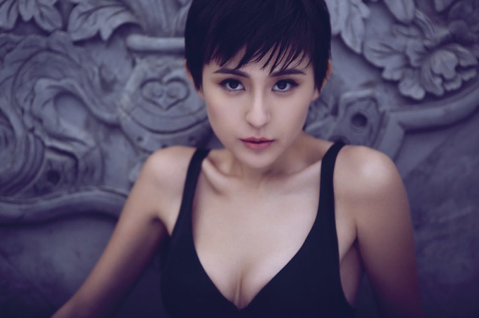 中港台美女。 熱依扎 [gif]