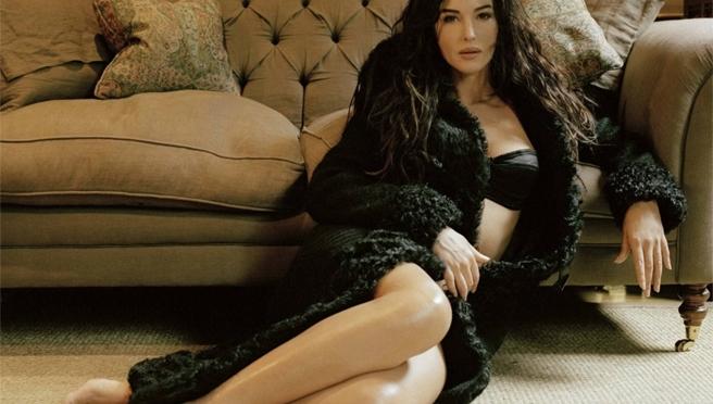 意大利美女。莫妮卡·贝鲁奇 Monica Bellucci [gif]