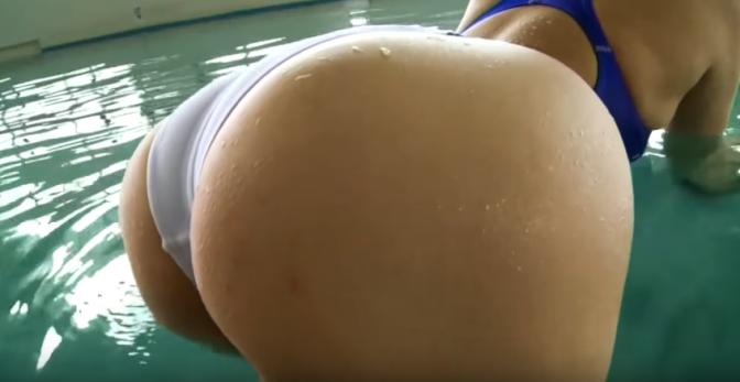 泳衣美女 [6p]。佐々木麻衣 Mai Sasaki 競泳水着 極上尻 1/2 绝对充血 ·上