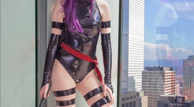 Cosplay美女 [10p]。靈蝶 Psylocke X战警
