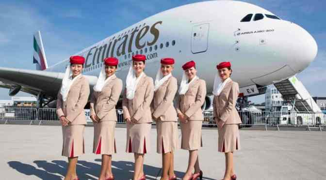 空乘美女 [7p]。阿联酋航空 Emirates