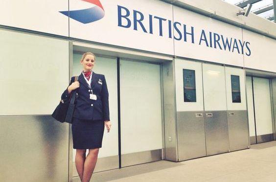 空乘美女 [21p]。英国航空 British Airways