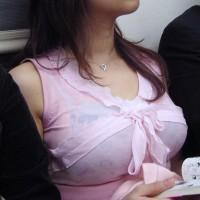 素人美女 [16p]。公車巨乳着衣 痴汉天堂