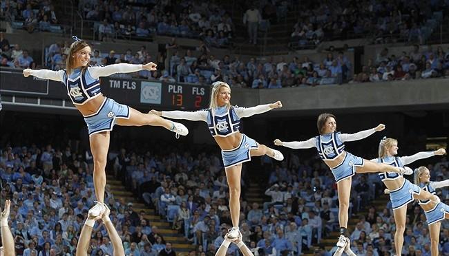 啦啦队美女 [10p]。北卡罗来纳大学教堂山分校 University of North Carolina at Chapel Hill (UNC)