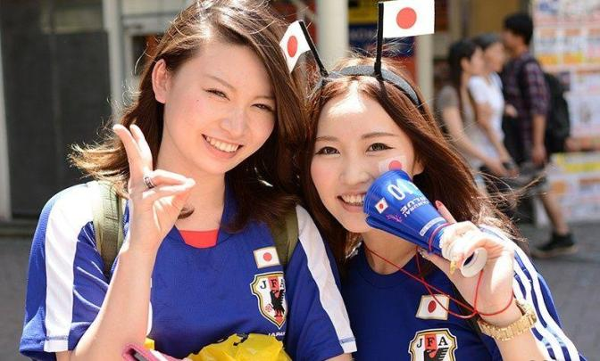 国家美女 [13p]。日本足球球迷
