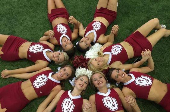 啦啦队美女 [15p]。奧克拉荷馬大學 University of Oklahoma