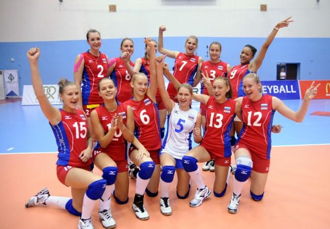 俄罗斯美女 [13p]。国家女子排球队