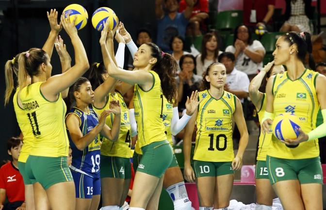 巴西美女 [17p]。国家女子排球队