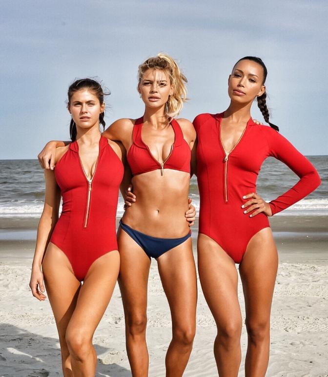 娱乐美女 [17p]。护滩使者/海灘救護隊 Baywatch 2017