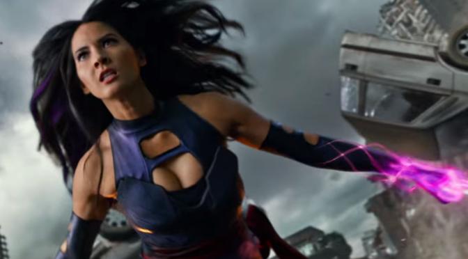 娱乐美女 [8p]。《X战警:天启》X-Men: Apocalypse 靈蝶 Psylocke 奥利维亚·穆恩 Olivia Munn