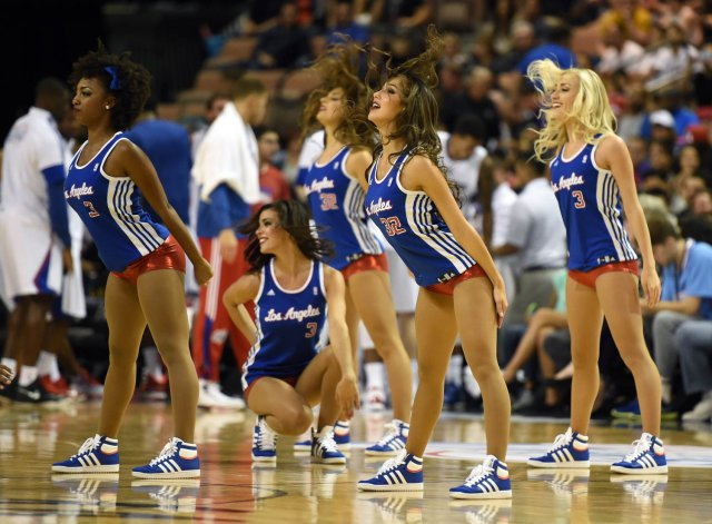 啦啦队美女 [25p]。洛杉矶快船 Los Angeles Clippers