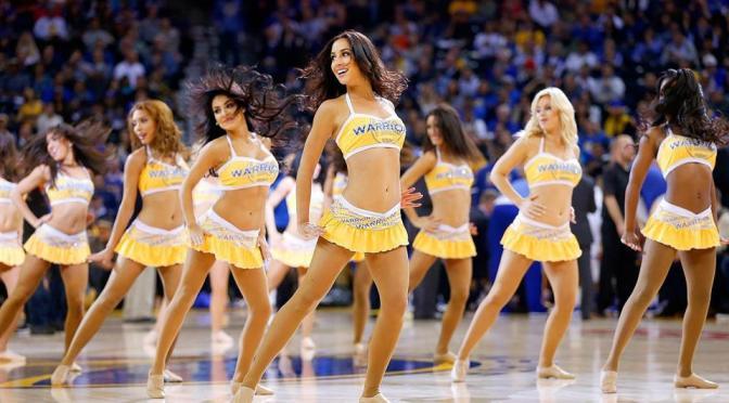 啦啦队美女 [17p]。金州勇士 Golden State Warriors