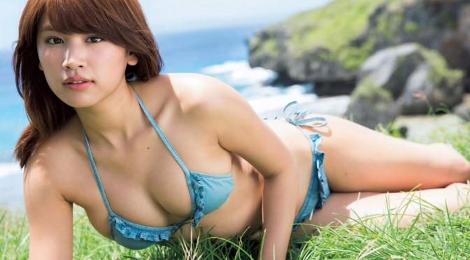 日本美女 [7p]。久松郁実 Ikumi Hisamatsu 19歳、現役女子大生。イクは甘え上手。
