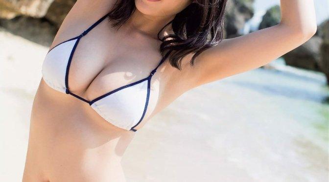 日本美女 [5p]。今野杏南 Anna Konno 「甘~くて白くて丸い! 白桃乳」