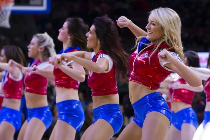 啦啦队美女 [15p]。底特律活塞 Detroit Pistons
